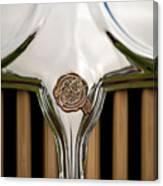 1931 Chrysler Coupe Grille Emblem Canvas Print