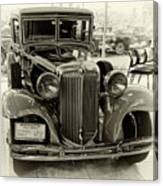 1931 Chrysler Front View Canvas Print