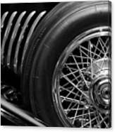 1931 Duesenberg Model J Spare Tire 2 Canvas Print