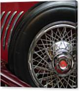 1931 Duesenberg Model J Spare Tire Canvas Print