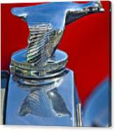 1931 Ford Model A Quail Hood Ornament Canvas Print