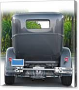 1931 Ford Tudor Sedan 'see Ya' Canvas Print