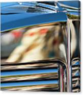 1931 Marmon Sixteen Coupe Hood Ornament Canvas Print