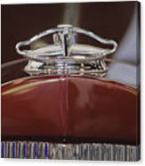 1931 Packard 840 Roadster Hood Ornament Canvas Print