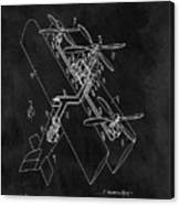 1931 Plane Patent Canvas Print