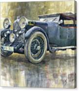 1932 Lagonda Low Chassis 2 Litre Supercharged Front Canvas Print