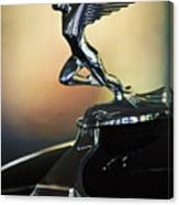 1932 Auburn 12-160 Speedster Hood Ornament Canvas Print
