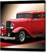 1932 Ford 'cherry Bomb' Sedan Canvas Print