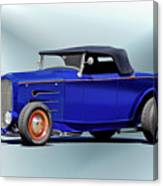 1932 Ford 'classic Hiboy' Roadster Xa Canvas Print