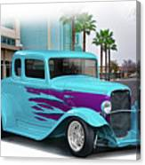 1932 Ford 'down Town' Coupe Canvas Print
