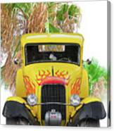 1932 Ford Five-window Coupe 'head On' I Canvas Print
