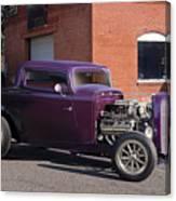 1932 Ford 'grape Soda' Coupe Canvas Print