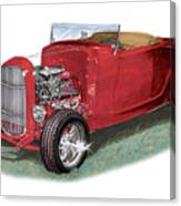 1932 Ford Hi-boy Hot Rod Canvas Print