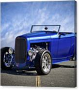 1932 Ford Hiboy Roadster Tdo II Canvas Print