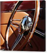 1932 Ford Hot Rod Steering Wheel 2 Canvas Print