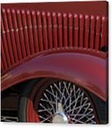 1932 Ford Hot Rod Wheel Canvas Print