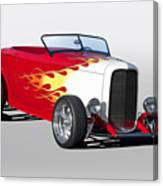 1932 Ford 'hot Stuff' Roadster Canvas Print