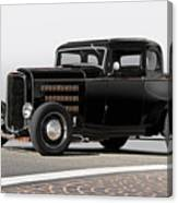 1932 Ford 'louvered' Coupe Canvas Print
