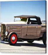 1932 Ford 'original Rod' Roadster Pickup Canvas Print