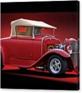 1932 Ford 'rag Top' Roadster Canvas Print