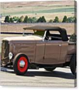 1932 Ford 'rare And Original' Roadster Pickup Canvas Print