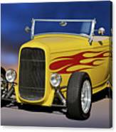 1932 Ford Roadster 'hiboy' Canvas Print