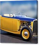 1932 Ford Roadster 'pass Side' L Canvas Print