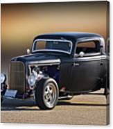 1932 Ford 'silky Satin' Coupe I Canvas Print
