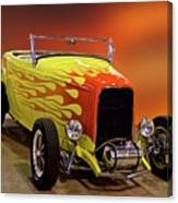 1932 Ford 'sunset' Studio' Roadster Canvas Print