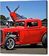 1932 Ford 'three Window' Coupe Vx Canvas Print