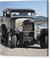 1932 Ford Tudor Sedan 'satin Doll' II Canvas Print