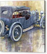 1932 Lagonda Low Chassis 2 Litre Supercharged  Canvas Print