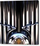 1932 Packard 12 Convertible Victoria Emblem Canvas Print