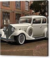 1933 Buick Victoria 'bootleg Beauty' Canvas Print