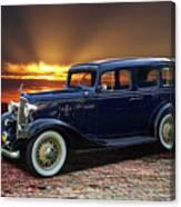 1933 Chevrolet 4 Door Eagle Sedan Canvas Print
