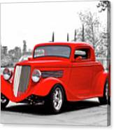1933 Ford 'three Window' Coupe I Canvas Print