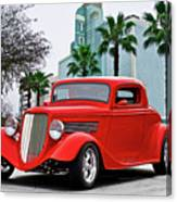 1933 Ford 'three Window' Coupe II Canvas Print