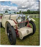 1933 Mg Sports Car Canvas Print