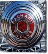 1933 Packard 12 Wheel Canvas Print