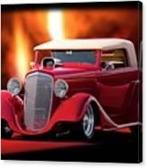 1934 Chevrolet Phaeton Convertible Canvas Print