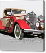 1934 Chrysler Roadster Canvas Print