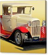 1934 Ford '49'er' Pickup Canvas Print