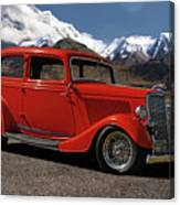1934 Ford  Canvas Print