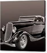 1934 Ford Roadster Canvas Print