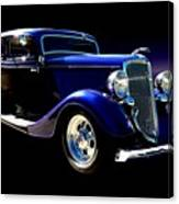 1934 Ford Tudor Sedan Canvas Print