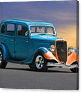 1934 Ford Victoria II Canvas Print