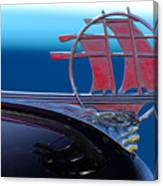 1934 Plymouth Hood Ornament Canvas Print