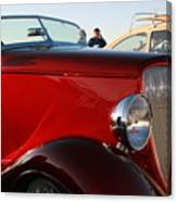 1934 Red Ford Canvas Print