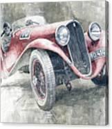 1934 Walter Standart S Jindrih Knapp 1000 Mil Ceskoslovenskych Winner  Canvas Print