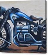 1934 Zundapp Motorcycle Canvas Print